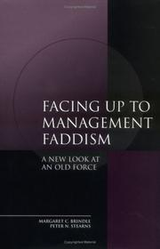 Cover of: Facing up to Management Faddism | Peter N. Stearns