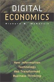 Cover of: Digital Economics by Richard B. McKenzie