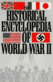 Cover of: The Historical Encyclopedia of World War II | Marcel Baudot