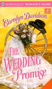 Cover of: Wedding Promise, The | Carolyn Davidson