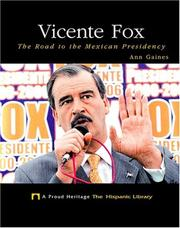 Cover of: Vicente Fox by Ann Gaines