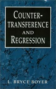 Cover of: Countertransference and regression by L. Bryce Boyer