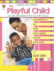 Cover of: The playful child | Becky Daniel