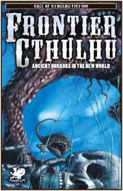 Cover of: Frontier Cthulhu | William Jones
