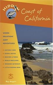 Cover of: Hidden Coast of California | Ray Riegert