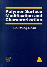 Cover of: Polymer surface modification and characterization | C. M. Chan
