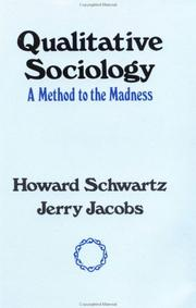 Cover of: Qualitative Sociology | Howard Schwartz