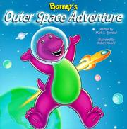 Cover of: Barney's outer space adventure | Mark Bernthal