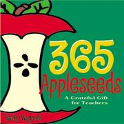 Cover of: 365 appleseeds by Kathy Wagoner