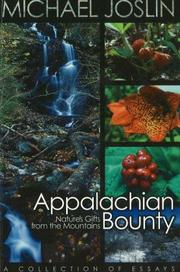 Cover of: Appalachian Bounty | Michael Joslin