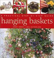 Cover of: Hanging Baskets and Wall Containers by Jenny Hendy