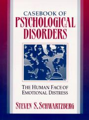 Cover of: Casebook of Psychological Disorders | Steven S. Schwartzberg