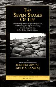 Cover of: The Seven Stages of Life by Adi Da Samraj