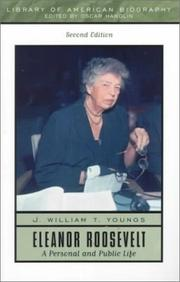 Cover of: Eleanor Roosevelt | J. William T. Youngs