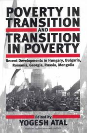 Cover of: Poverty in Transition and Transition in Poverty by Yogesh Atal