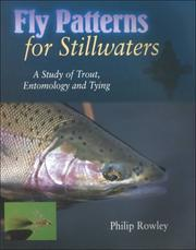 Cover of: Fly patterns for stillwaters | Philip Rowley