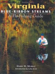 Cover of: Virginia blue-ribbon streams | Harry W. Murray