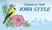Cover of: License to Cook Iowa Style | Miriam Canter