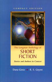 Cover of: Longman Anthology of Short Fiction, Compact Edition, The by Dana Gioia
