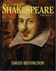 Cover of: The complete works of Shakespeare by William Shakespeare