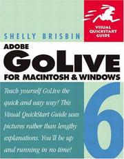 Cover of: Adobe GoLive 6 for Macintosh and Windows | Shelly Brisbin