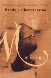 Cover of: Mirage by Bandula Chandraratna