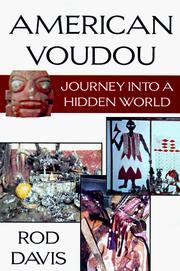 Cover of: American Voudou by Rod Davis