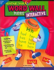 Cover of: Making Your Word Wall More Interactive | Trish Callella