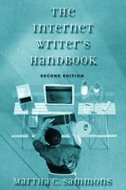Cover of: The Internet Writer's Handbook | Martha C. Sammons