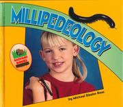 Cover of: Millipedeology | Michael Elsohn Ross