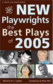 Cover of: New Playwrights | D. L. Lepidus