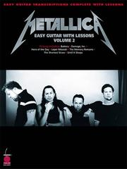 Cover of: Metallica Easy Guitar with Lessons (Volume II) by Metallica