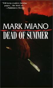 Cover of: Dead of Summer by Miano Mark