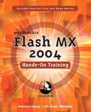 Cover of: Macromedia Flash MX 2004 Hands-On Training | Rosanna Yeung