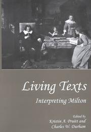 Cover of: Living texts | Kristin A. Pruitt, Charles W. Durham