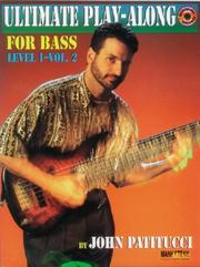Cover of: Ultimate Play-Along for Bass | John Patitucci