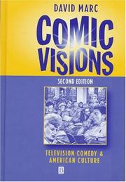 Cover of: Comic visions | David Marc