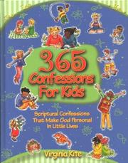 Cover of: 365 confessions for kids | Virginia Kite