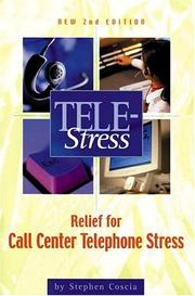 Cover of: Tele-stress | Stephen Coscia