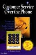 Cover of: Customer Service over the Phone | Stephen Coscia