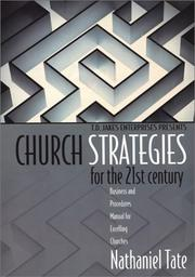 Cover of: T.D. Jakes Enterprises presents church strategies for the 21st century | Nathaniel Tate
