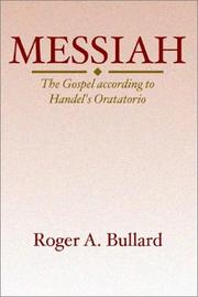 Cover of: Messiah by Roger A. Bullard