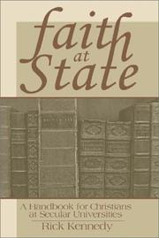 Cover of: Faith at State | Rick Kennedy