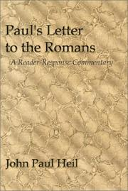 Cover of: Paul's letter to the Romans | John Paul Heil