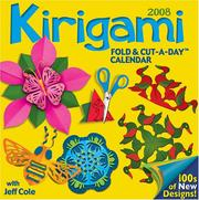 Cover of: Kirigami Fold & Cut-a-Day | Jeff Cole