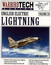 Cover of: English Electric Lightning - WarbirdTech Volume 28 (WarbirdTech) | Kev Darling