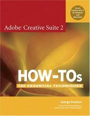 Cover of: Adobe Creative Suite 2 how-tos | George Penston