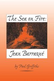 Cover of: The Sea on Fire | Paul Griffiths