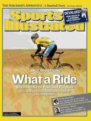 Cover of: Sports Illustrated, August 1, 2005 Issue - Lance Armstrong Cover by Terry McDonell