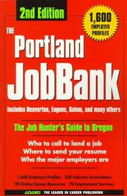 Cover of: The Portland Jobbank | Steven Graber
